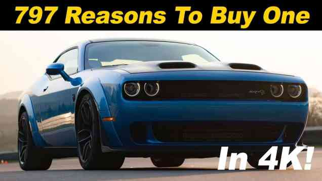2019 Dodge Challenger Hellcat Redeye Review