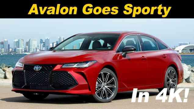2019 Toyota Avalon First Drive