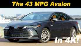 2019 Toyota Avalon Hybrid First Drive
