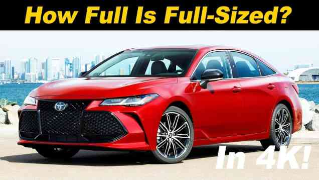 2019 Toyota Avalon Review