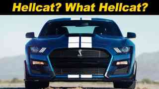 2020 Mustang Shelby GT500 First Look