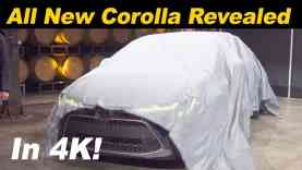 2020 Toyota Corolla Sedan First Look