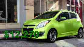 Four cheapest cars in America Versa vs Spark vs Mirage vs ForTwo