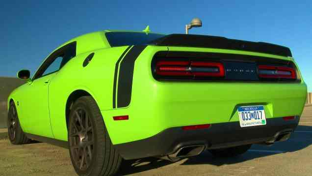Justifying the 485 HP 2015 Challenger in 30 seconds