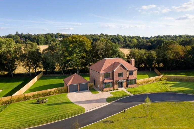 Aerial Drone Photography Surrey