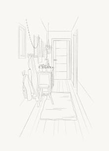 door-illustration-pencil