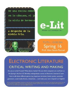 e-lit flyer