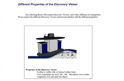 DiscoveryViewer SketchUp object in a Word document