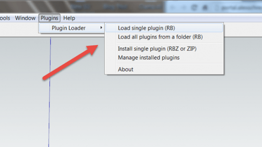 SketchUp Plugin Loader