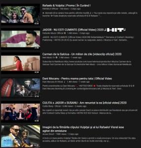 Trending YouTube Romania