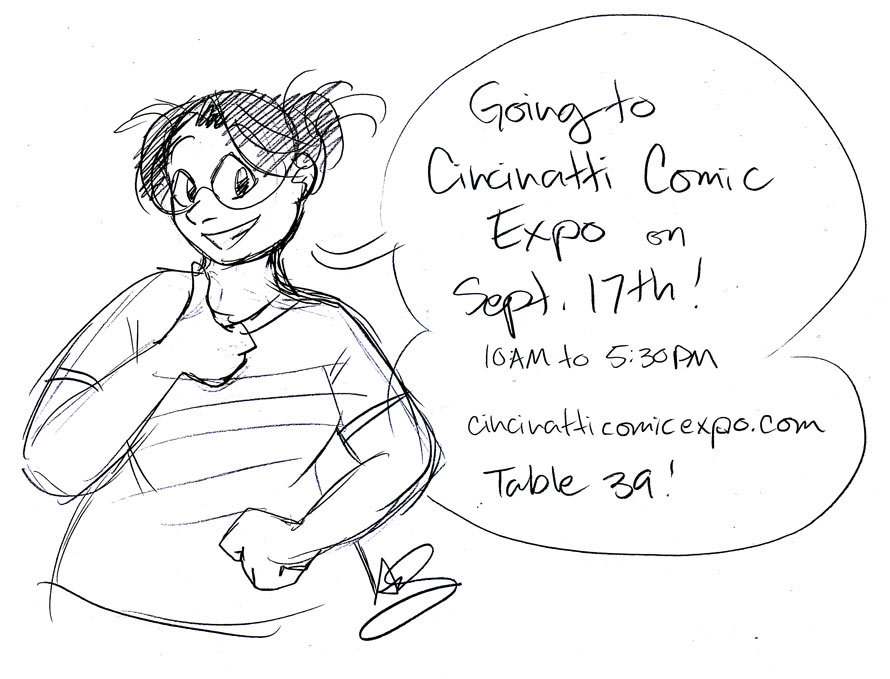Going to Cincinnati Comic Expo!
