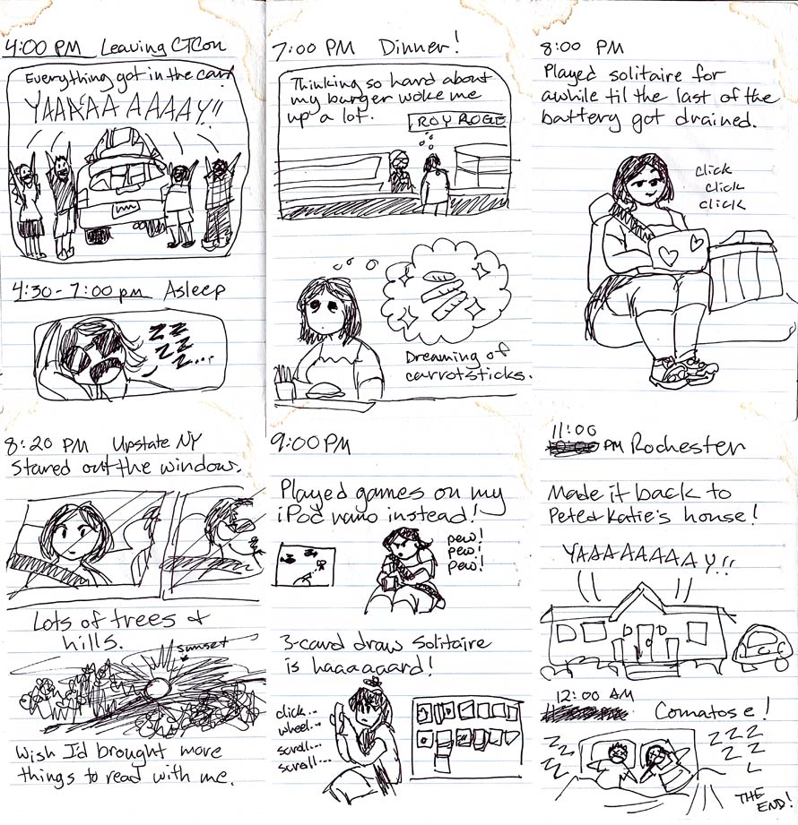 ConnectiCon Hourly Comics