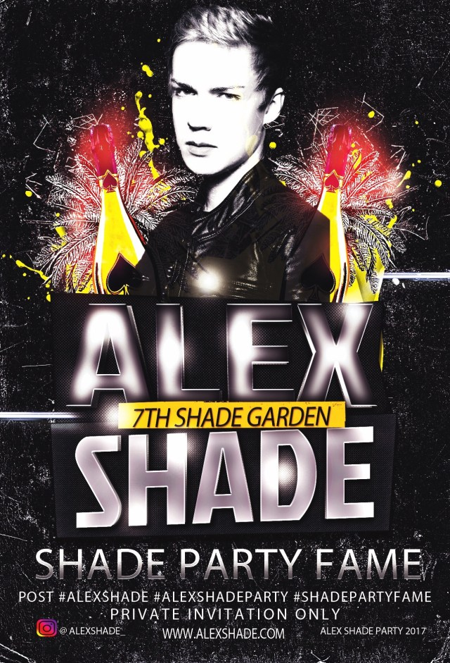 Alex Shade Party Fame