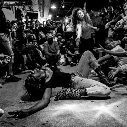 Batalla de voguing en una ball en París. Fotografía de Teresa Suárez Zapater.