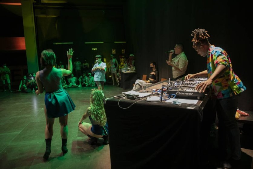 Kiki Ball en Club Mutant de Valencia en 2020 Foto de Eva Máñez