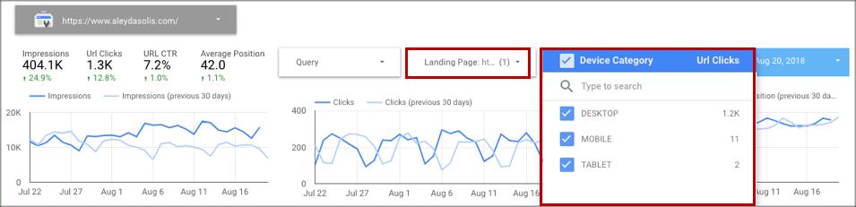 Filter Control Selectors Google Data Studio