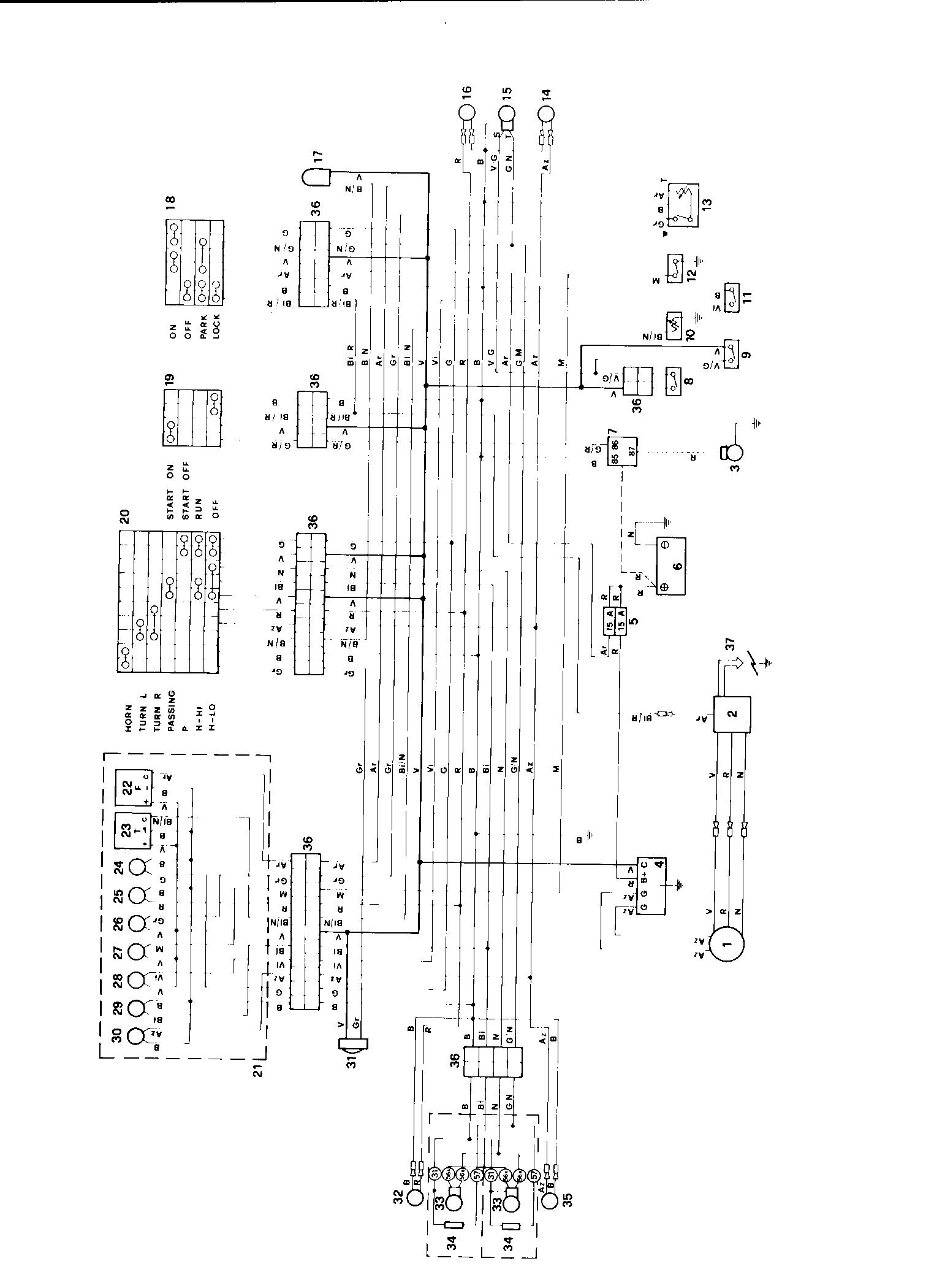 wiring diagram database  freccia bits and pieces