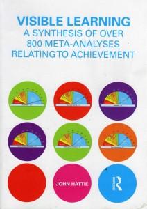 John Hatties krachttoer: Visible Learning, een synthese van meer dan 800 meta-studies over wat in welke mate werkt in het onderwijs.