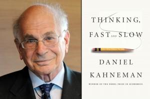 In Thinking Fast and Slow (Ons feilbare denken) geeft Kahneman een overzicht van jaren onderzoek naar de manieren waarop we beslissingen nemen.