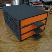 Drawer box for screws