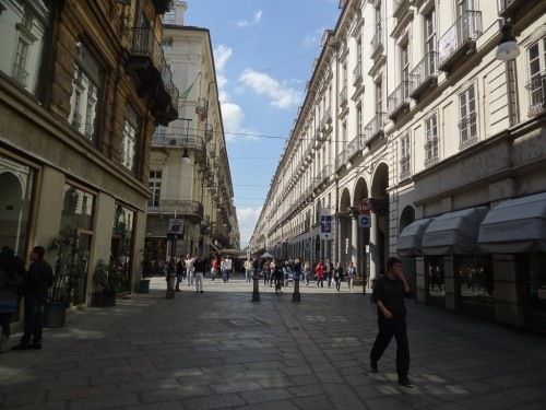 Via Garibaldi in Turin