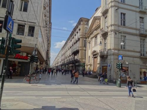 Via Garibaldi in Turin