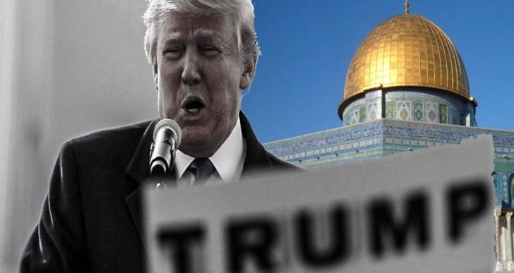 """ترامب يصدر أزمته الداخلية بإعلان القدس عاصمة """"إسرائيل"""""""