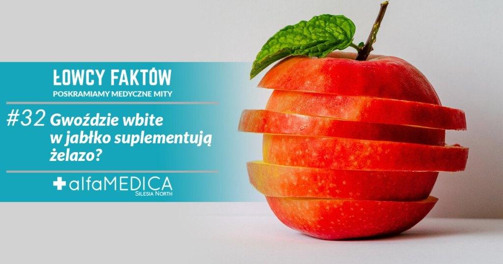 Jabłko z gwożdziem