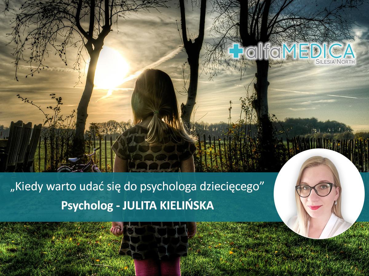 Kiedy udać się do psychologa dziecięcego