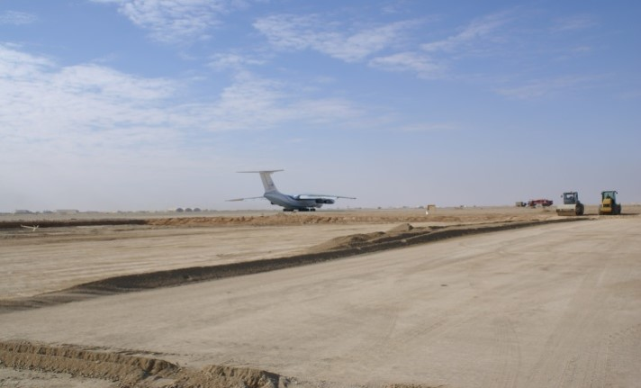 FLIGHT LINE –TAXIWAY & APRONING PROJECT