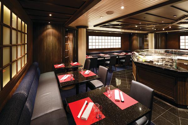 The Japanese Restaurant Seishin, Silver Spirit