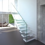 cantilevered stairs-ghost glass-alfascale