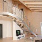 iron stairs-elite line wood3-alfascale