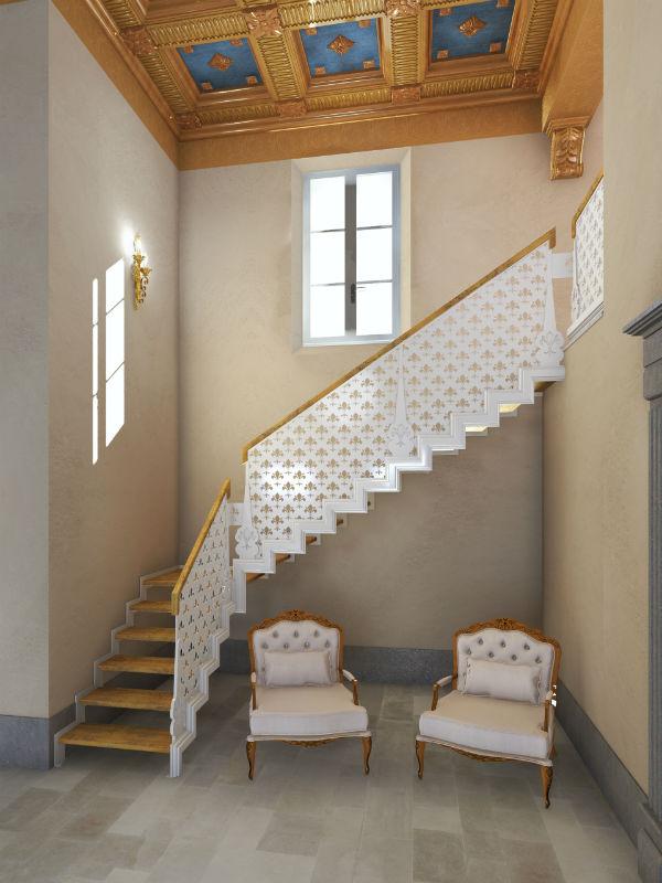 Scale a vista per interni le scale per interni pi belle - Scale interne a vista ...