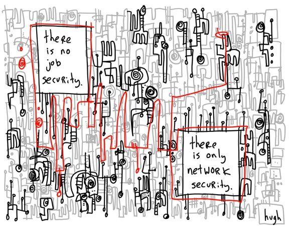 Hugh MacLeod: 'No Job Security'