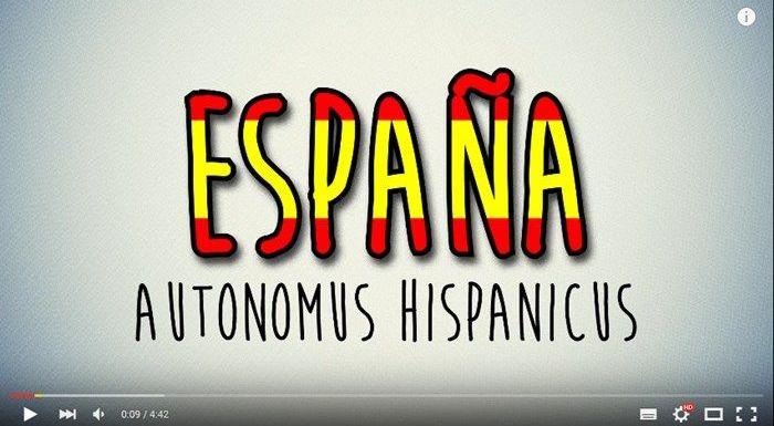 Vídeo recomendado: Autonomus Hispanicus