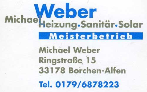 Michael Weber - Heizung-Sanitär-Solar