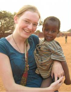 Eva Hüppmeier in Malawi