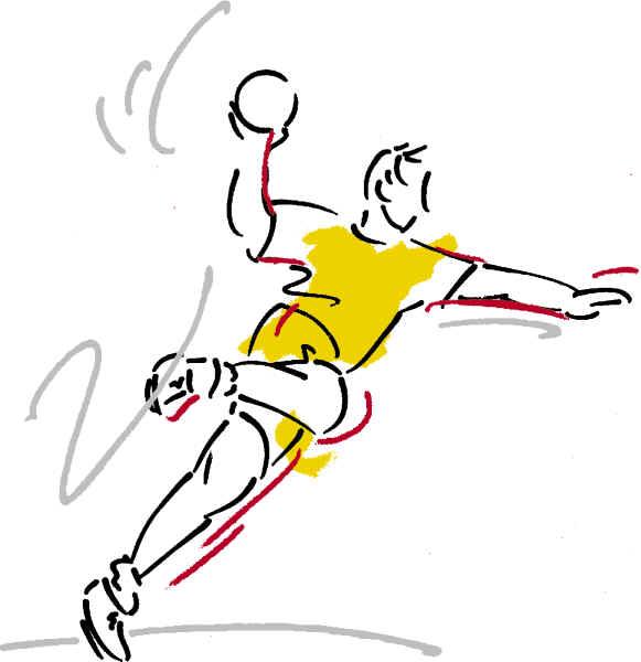 Der SV RW Alfen bildet Handballer aus