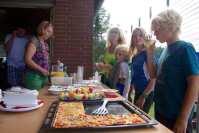 Als Stärkung hatte die Ernährungsberaterin Ulla von Rüden diverse Fitness-Snacks vorbereitet