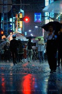 Typhoon season in Tokyo