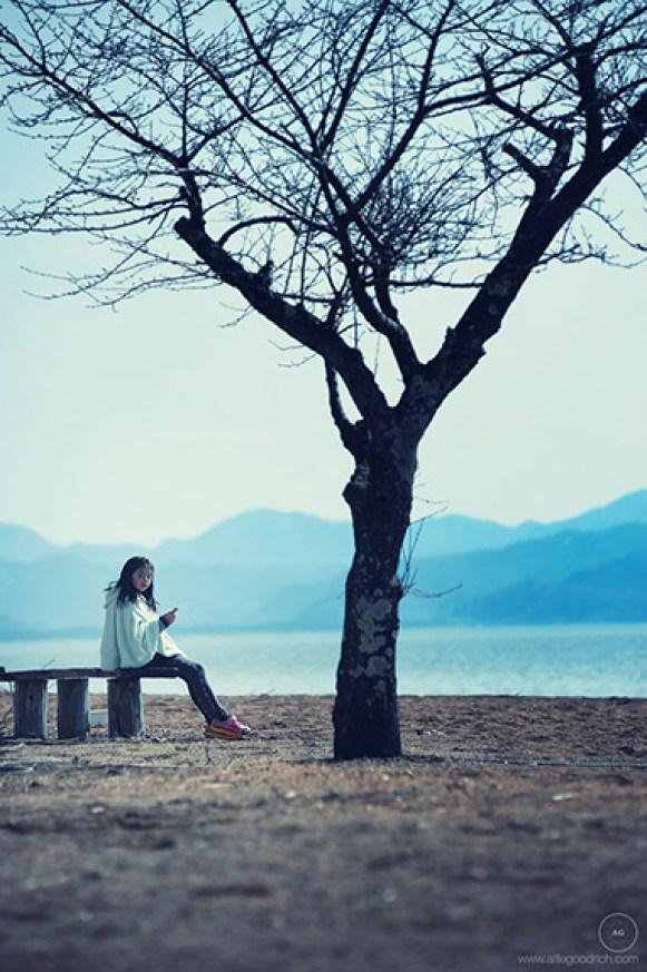 Ami by Lake Inawashiro