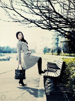 Natsuko by the canal