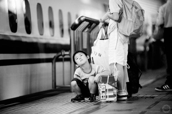'Are we there yet?' Tokyo Station