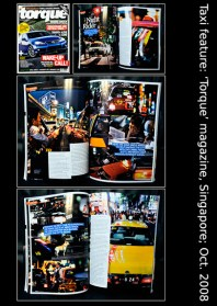 Featured in Torque magazine, Singapore