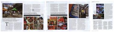 Feature on Ameyokocho, Tokyo, for Travel & Leisure Magazine