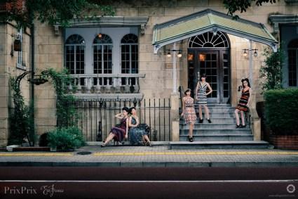 Fashion shoot for Pri Prix's line of Eva Franco clothing
