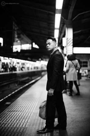 Portrait photography in Tokyo