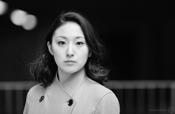 Portrait photographer in Tokyo: Shots for dancer Ayuko Izumi