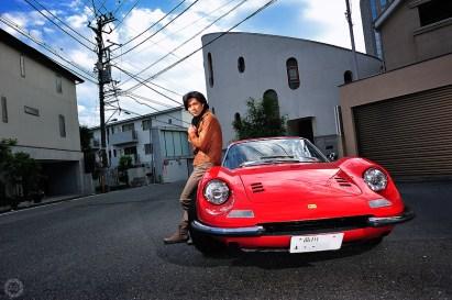 Tetsuya Kumakawa for Ferrari Magazine